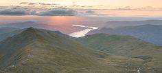 Swirrwl Edge, Ullswater  I climbed up Helvellyn in quite thick cloud to be treated to a glorious sunrise.