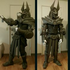 [Self] WIP Monster Hunter armor #cosplay http://bit.ly/1Pirklu