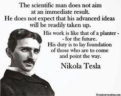 """Nikola Tesla quote: """"The day science . Nikola Tesla Quotes, Nicola Tesla, E Mc2, Quantum Physics, Physicist, Albert Einstein, Quotations, Qoutes, Lyric Quotes"""
