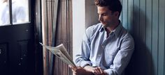 The Internet is great and all but it's never going to replace a man reading a newspaper (preferably folded a few times with care).