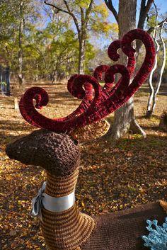 Knit & Crocheted Buck