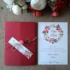 Embossed Wedding Invitations, Handmade Wedding Invitations, Watercolor Wedding Invitations, Wedding Invitation Cards, Wedding Cards, Wedding Gifts, Flower Invitation, Invitation Card Design, Wedding Planner Book