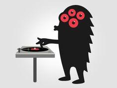 Monster Illustration by Chris Kerr