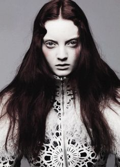 Codie Young in 'Vogue Beauty' by Ben Hassett for Vogue Italia November 2012.