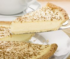 Milk tart is such a classic South African dessert that it even has it's own special day on the calendar – 27 February is known as National Milk Tart Day Tart Recipes, Dessert Recipes, Cooking Recipes, Custard Recipes, Fondue Recipes, Microwave Recipes, Condensed Milk Desserts, Recipes With Condensed Milk, Condensed Milk Cookies
