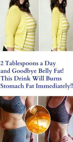 2 Tablespoons a Day and Goodbye Belly Fat. This Drink Will Burns Stomach Fat Immediately!!! – Stay Healthy Magazine