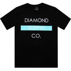 Diamond Supply Company Bar Tee in black