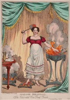 The Celebrated Fire Proof Female