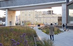 Piet Oudolf - Gardens - High Line Landscape Architecture, Landscape Design, Garden Design, Plant Design, Public Garden, Private Garden, New York Central Railroad, High Line, Thing 1