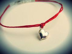 NEW  Mini Puff Heart bracelet by JewelryByMaeBee on Etsy, $18.00