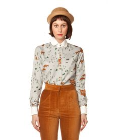 Constance Button Down - In God We Trust NYC - $169, orig. $242  Waaant.