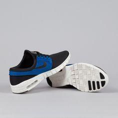 Nike SB Stefan Janoski Max Black-Photo Blue-Ivory