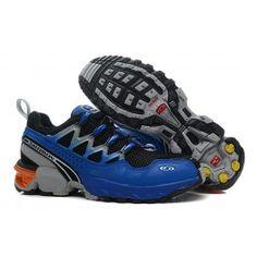 Nagelneu Salomon GCS Athletic Trail Männer Schuhe Schwarz Blau Schuhe Online | Neu Salomon GCS Athletic Trail Schuhe Online | Salomon Schuhe Online Zu Verkaufen | schuheoutlet.net