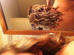 Conair spiral curlers... Maybe my natural curls could use a little help every now and then