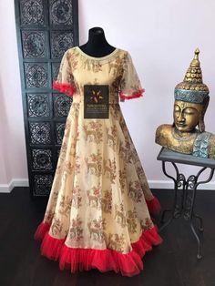 Indian Wedding Gowns, Indian Gowns Dresses, Unique Dresses, Long Gown Dress, Lehnga Dress, Designer Anarkali Dresses, Designer Dresses, Long Gown Design, New Trend Dress
