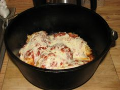 Dutch oven recipe: Crispy Italian Chicken   Woodward Dutch Oven Cook-off (So if you are going don't you dare take our recipe!!)