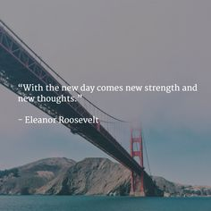 """With the new day comes new strength and new thoughts.""   - Eleanor Roosevelt   #inspiring #claritycoachingNL"