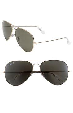 Ray-Ban Polarized Aviator Sunglasses available at (polarized) Ray Ban Polarized, Polarized Aviator Sunglasses, Ray Ban Sunglasses Sale, Sunglasses 2016, Sunglasses Store, Cheap Sunglasses, Ray Ban Women, Spring 2015 Fashion, Ray Ban Glasses