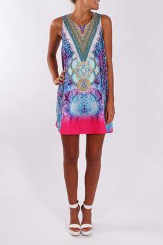 Harmonious Dress - love colors