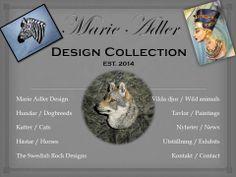 custom made smycken efter ditt husdjur som modell eller designerns egna kreationer. Skickar över nästan hela världen.