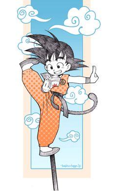 Chibi Goku by Chiisa on deviantART
