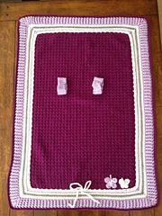 Crochet car seat cover free pattern