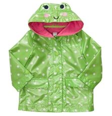 Hooded Frog Rain Jacket available at Carter's