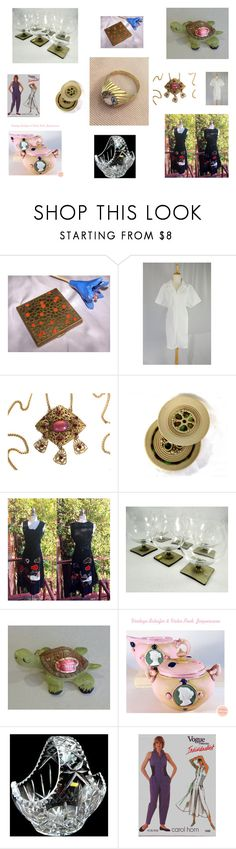 """Put a Ring on It"" by ourboudoirkate on Polyvore featuring vintage"