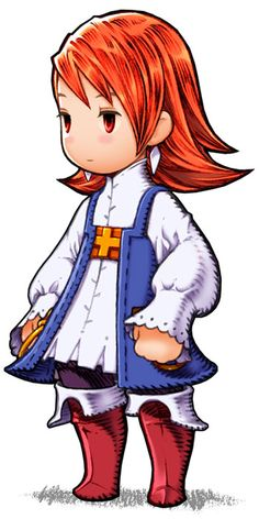 Refia - Freelancer from Final Fantasy III (DS)