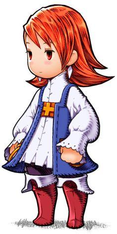 Refia - Freelancer - Characters & Art - Final Fantasy III (DS)