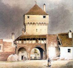 Böbel - Poarta Elisabetha la 1859 Notre Dame, Building, Travel, Google, Viajes, Buildings, Trips, Construction, Tourism