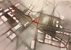 Deconstruction Architecture Diagrams Density diagram model by