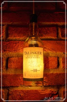 Talisker Bottle Light Hängelampe Pendellampe von JealousDesign auf Etsy