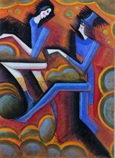 hugo scheiber art   Hugo SCHEIBER (1873-1950) - Scène de cirque - Auction