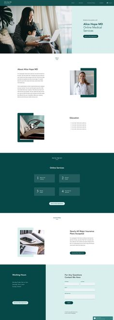 Private Doctor | Wix Website Template