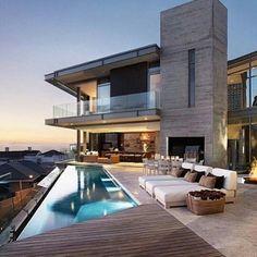 Pool and balcony