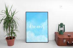 Un favorito personal de mi tienda Etsy https://www.etsy.com/es/listing/399556119/dreams-lamina-digital-print
