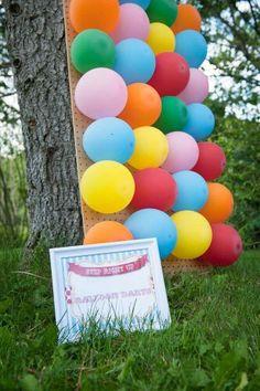 Balon patlatıyoruuuz :D