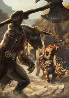 "ArtStation - Illustration for ""Megalith Games"", Anastasia Moiseeva"