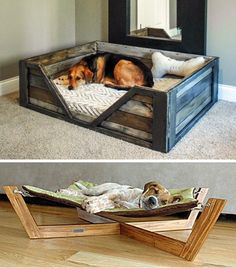 Diy Furniture Tv Stand, Diy Furniture Projects, Baby Dogs, Pet Dogs, Dog Houses, Cubby Houses, Animals And Pets, Baby Animals, Dog Friendly Garden