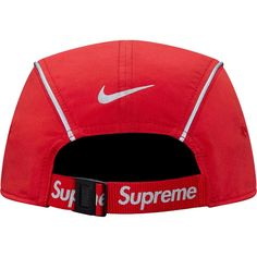 455f1d35969  Supreme  Supreme® Nike® Air Max Running Hat Red
