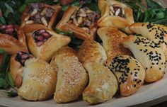 LEBANESE RECIPES: Small pies (Manaeish) or Fatayer Recipe
