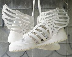 Jeremy Scott Redesigns the JS Wings for the Adidas Originals Shoes #sneakers trendhunter.com