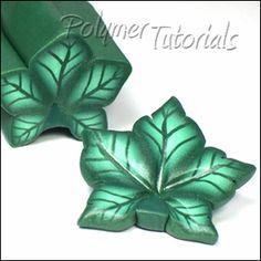 Millefiori Leaf Canes, Polymer Tutorials