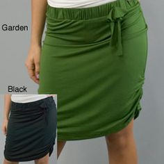 @Overstock - This skirt from AtoZ features soft modal-blend construction and can be worn as a skirt or a top. A rosette detail and ruched sides add interest to this stylish piece. Color optio...http://www.overstock.com/Clothing-Shoes/Convertible-Top-Skirt/4692882/product.html?CID=214117 $47.49