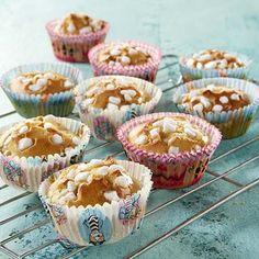 Muffins aux raisins et au sucre perlé
