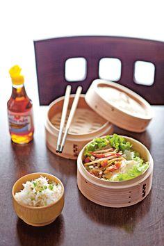 Dos de cabillaud gingembre et petits légumes (Tchin Tchoueune)