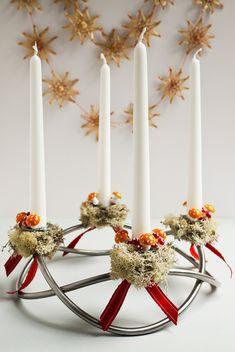 Jul.Christmas.Noel - Mossy Delight Adventskranse - Sewing Daisies