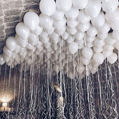 "2 Likes, 1 Comments - EveryThing Pretty (@allprettythangs) on Instagram: "" #balloons #pretty #party #white #celebration #decoration"""