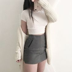 Fashion ideas on korean fashion outfits 092 Korean Fashion Trends, Korean Street Fashion, Korea Fashion, Asian Fashion, Korean Fashion Kpop, Cute Fashion, Look Fashion, Daily Fashion, Teen Fashion